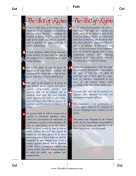 Bill Of Rights Bookmark Founding Document